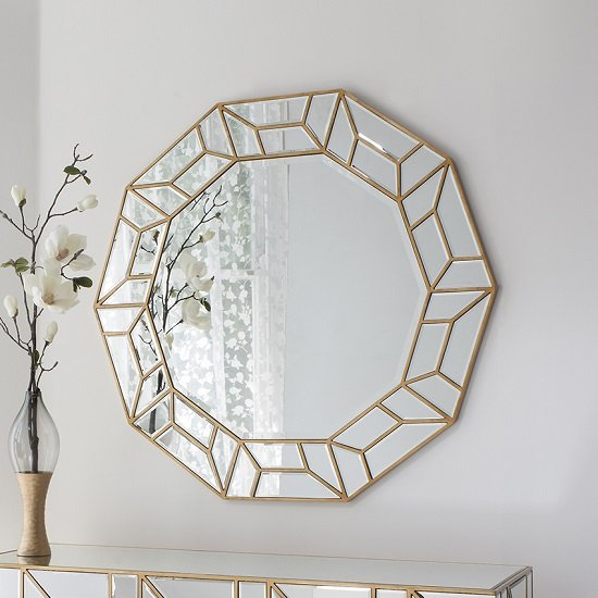 Gallery Celeste Wall Mirror - 6 Reasons To Love Wall Mirrors In Gold Frame
