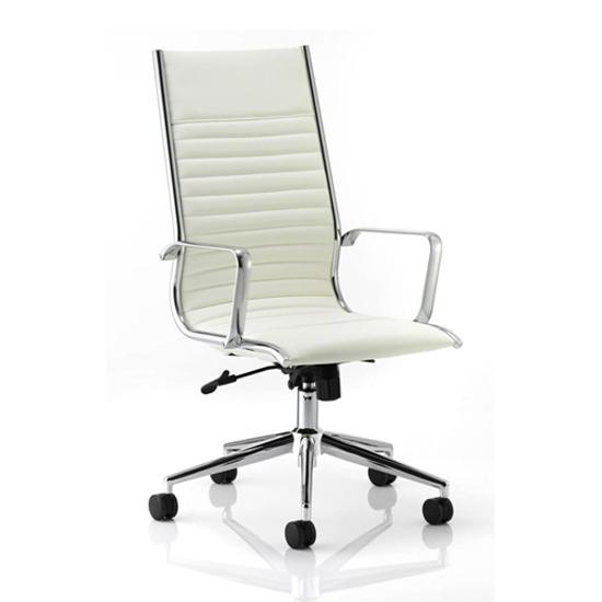 Ritz Ivory 59 - Choosing Computer Desks For Bad Backs And Other Ergonomic Office Furniture