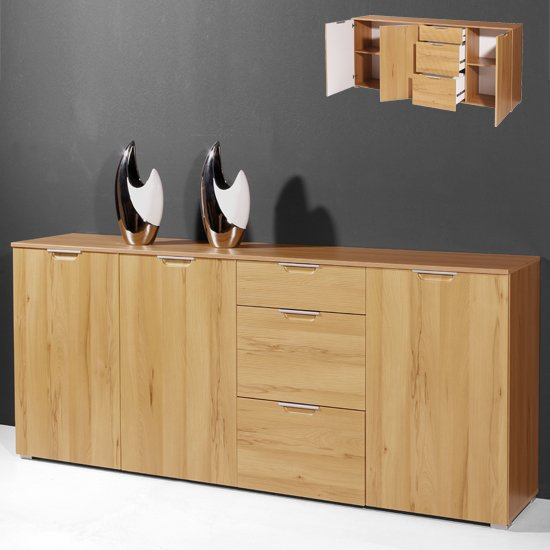 3099 50 - 8 Examples On Solid Wood Buffet Server And Impressive Sideboard Cabinets