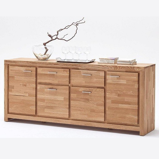 48804EI5 MCA - 8 Examples On Solid Wood Buffet Server And Impressive Sideboard Cabinets