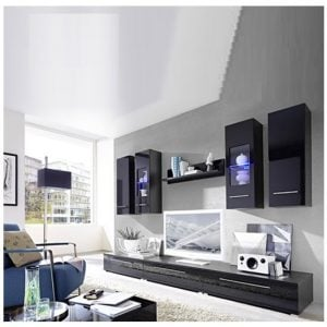 Cool 83 pe dek blk 12c 300x300 - Expand Your Options With The Selection Of Cool TV Stands From Furniture In Fashion