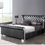 DA 73  BLACK b bed 150x150 - Leather And Gloss In New Verona Furniture Collections: New Ideas For A Sparkling Interior