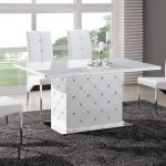 DTG 712 white dining table 150x150 - Set The Stage With Our Most Appealing High Gloss Furniture
