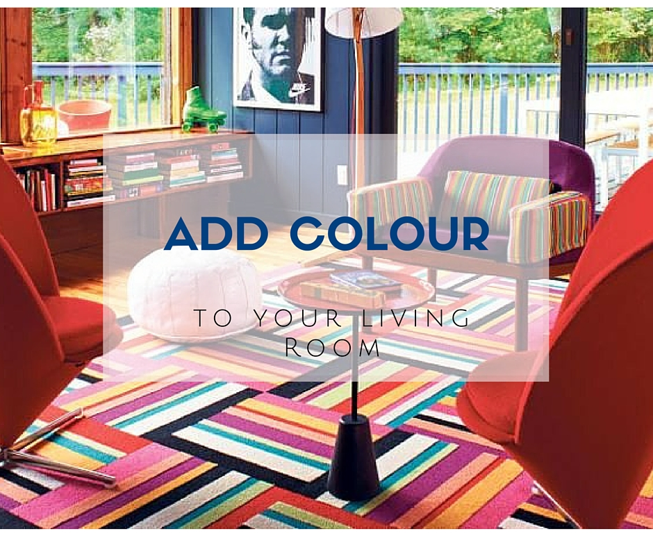 10 Ways To Add Colour To A Living Room