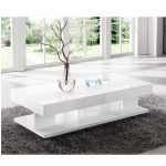 ST B43 extendable white coffee table 150x150 - Leather And Gloss In New Verona Furniture Collections: New Ideas For A Sparkling Interior
