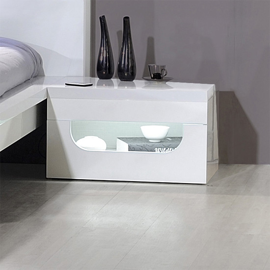 bedsidewhite pulse 12cd1101 - 10 Modern Nightstands And Ideas On Making Them Work In A Bedroom