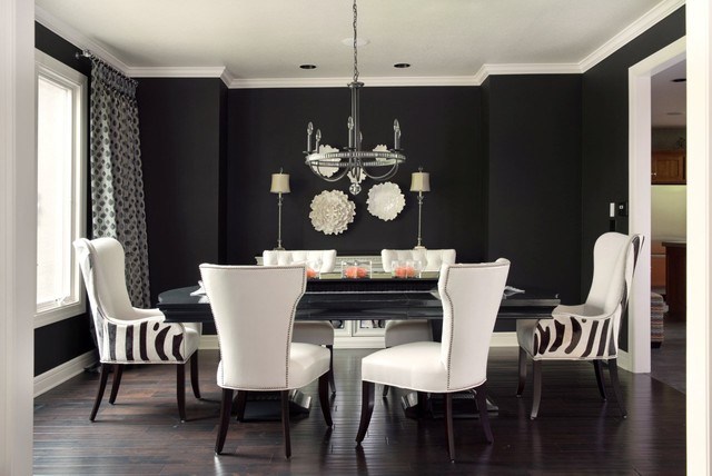 transitional dining room - 8 Tips On Upgrading Your Existing Dining Room Without Blowing The Budget