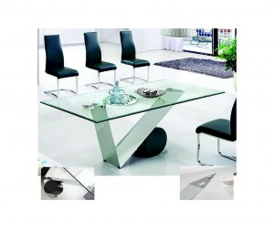 6 Modern Glass Dining Tables From Furniture in Fashion