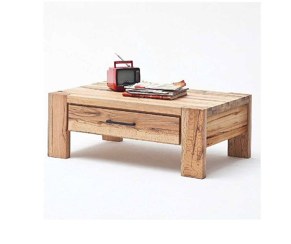 Solid Oak Coffee Tables for a Timeless Centerpiece