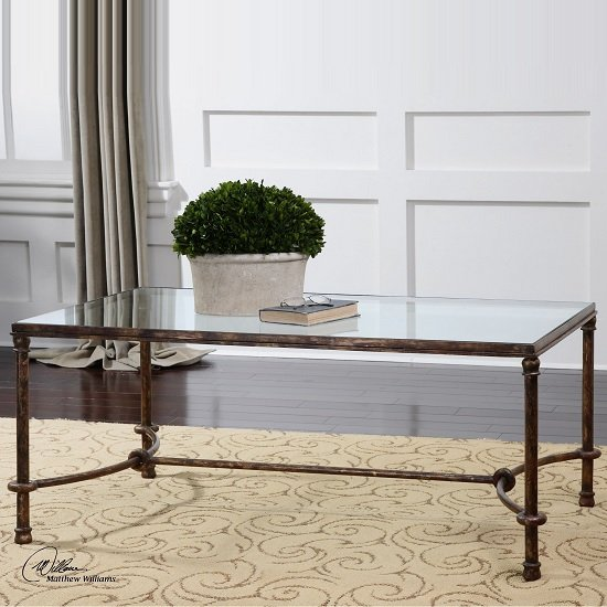 Choose Wood & Metal Coffee Tables Which Give A Modern And Industrial Feel To A Room