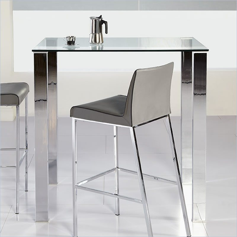 The Pros And Cons Of Glass Top Bar Tables For Kitchen
