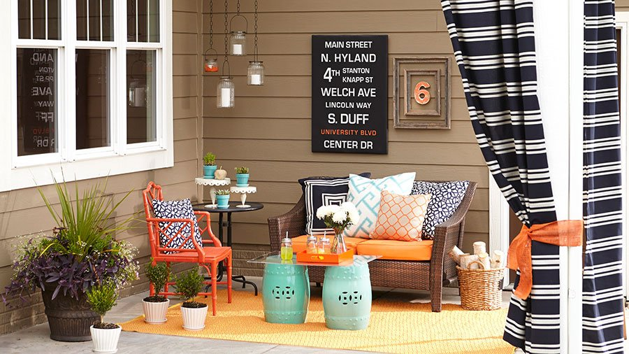 8 Front Patio Decorating Ideas To Give Your House A Sweet Look