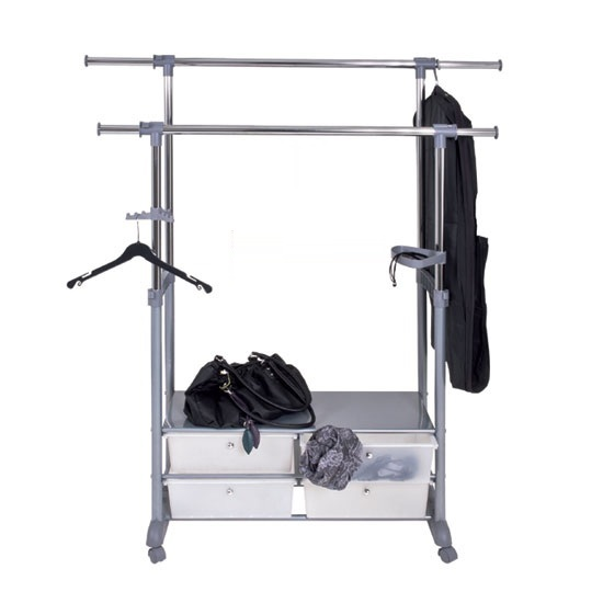 44744 clothing rail - Hanging Clothes Storage Solutions