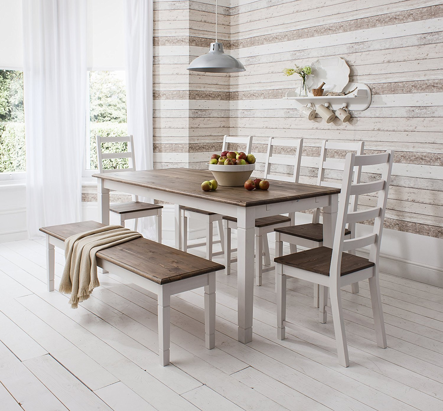 Dining Chairs And Benches For Rustic Interiors