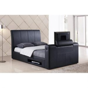 Stylish  Black  Faux  Leather  TV  Bed 654 300x300 - Tips On Choosing TV Beds For Bachelor Bedrooms
