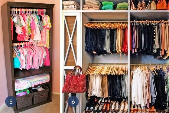 closet organization 3 - How To Maximize Space With Vertical Storage Units