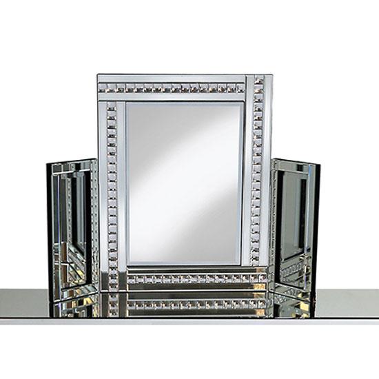 crystal dressing table mirror PO918DRS Crst 1 - 5 Design Tips On Choosing A Dresser Mirror