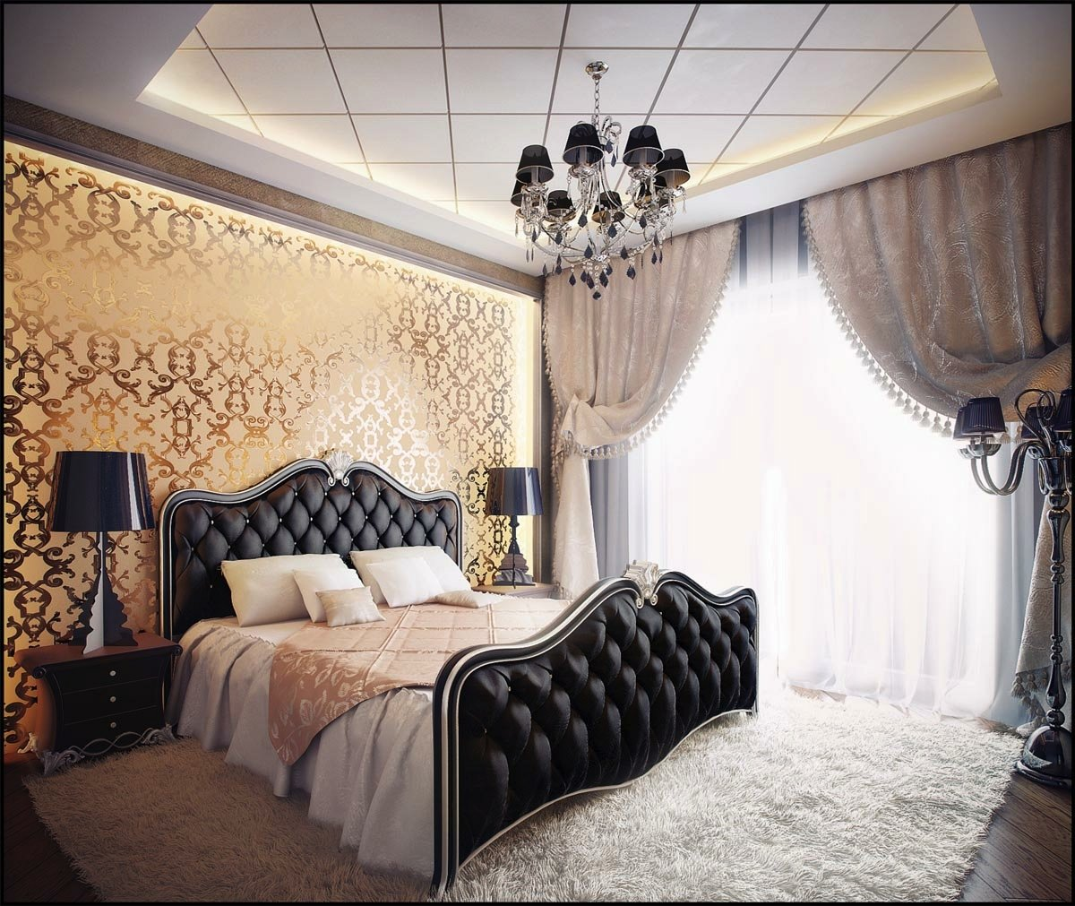 Best Décor Ideas With Elegant Black Bedroom Furniture For Your Home