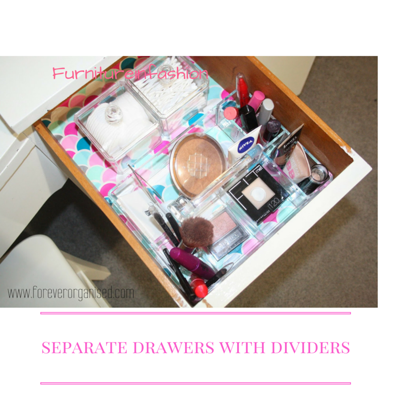 how to organise your dressing table 7 - How To Organize Your Dressing Table: 5 Useful Tips