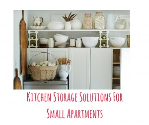 Kitchen Storage Solutions For Small Apartments
