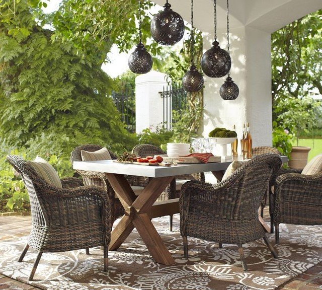 outdoor dining set1 - Choosing High Quality Outdoor Dining Furniture Sets