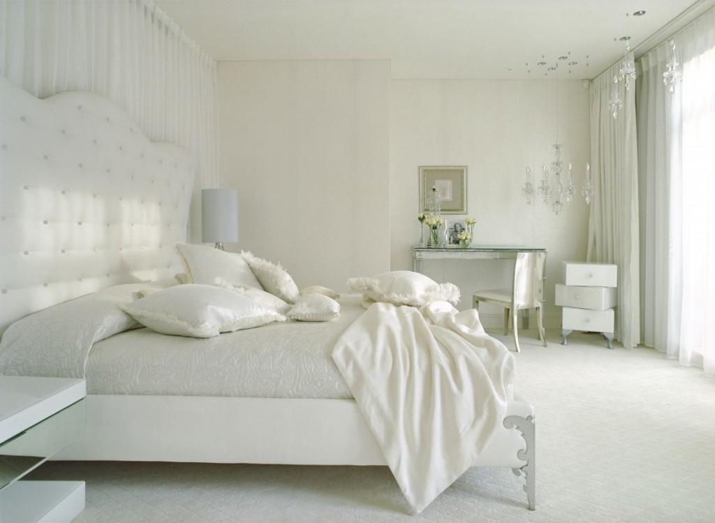 Astounishing White Bedroom - Antique White Furniture Ideas For A Romantic Bedroom