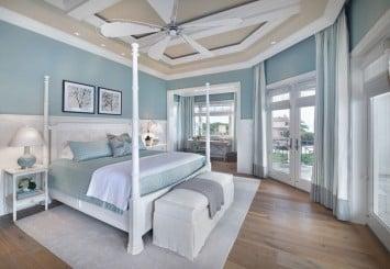 Beach style blue bedroom design min 355x245 - 4 Great Beach Style Bedroom Design Ideas