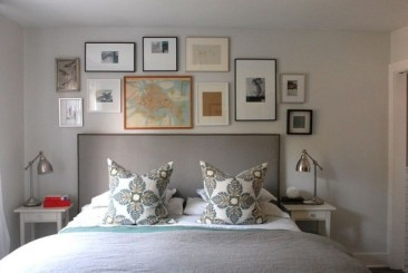 Master Bedroom with Wall Galery min 366x245 - Main Insights To Create A Boho Chic Bedroom