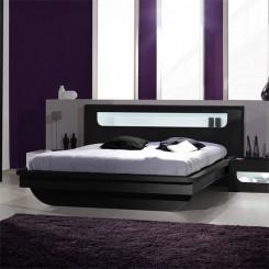bedblack pulse 12cq0314 min 245x245 - Black High Gloss Bedroom Furniture Sets: Complete Shopping Guide