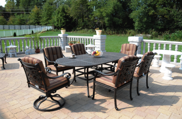 Ambiance With Aluminum Patio Furniture:Recreating Outdoor