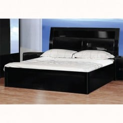 madrid bed blk min 245x245 - Black High Gloss Bedroom Furniture Sets: Complete Shopping Guide