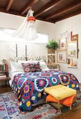 small bohemian bedroom design min 168x245 - Main Insights To Create A Boho Chic Bedroom