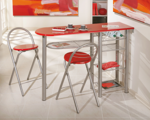 Choose A Gorgeous Bar Set With Counter Height Dining Chairs