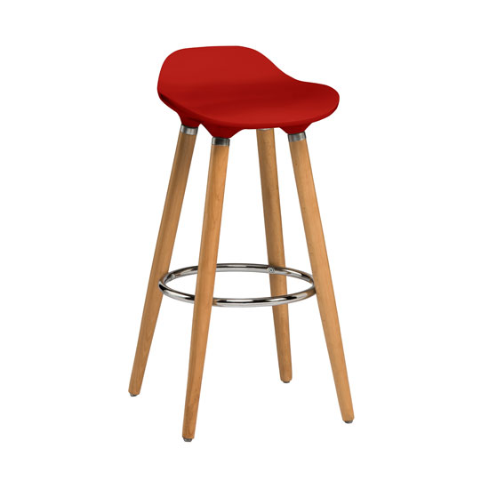 The Outstanding Look Bar Stools Of Cherry Wood