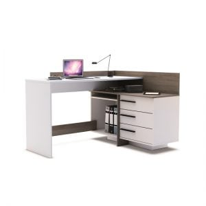 Give your Office a New Look with Corner Computer Desk