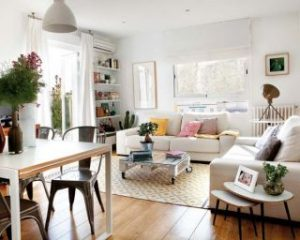 75mp apartment in madrid 300x240 - 4 Easy Ways to Keep a Small Apartment Organized