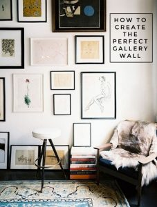 How To create the perfect wall gallery