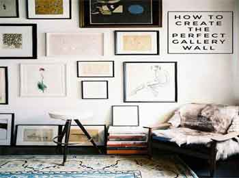 How to Create the Perfect Gallery With Wall Art