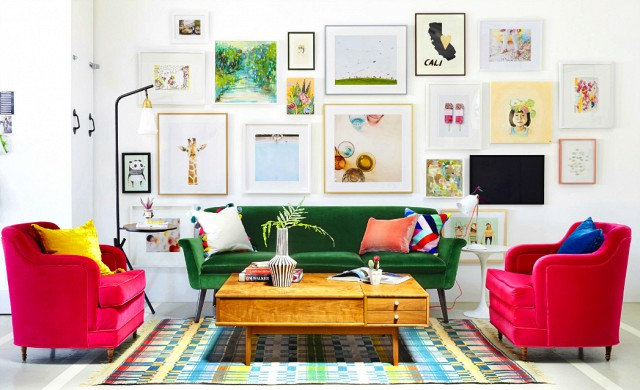 3 Colorful Sofas to Give your Living Room a Vibrant Look