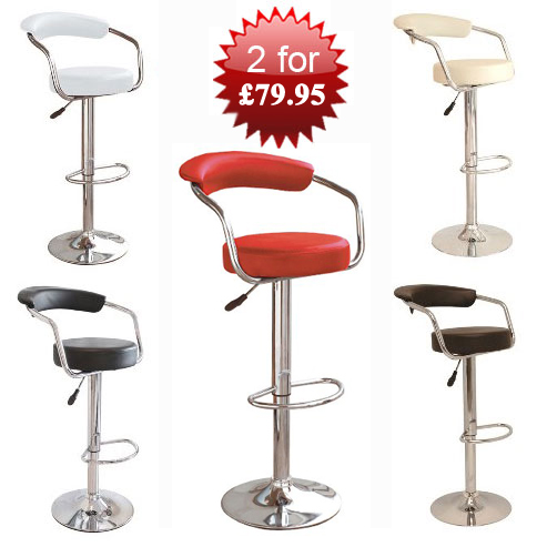 Mission Style Bar Stools, Created From The Past For The Present
