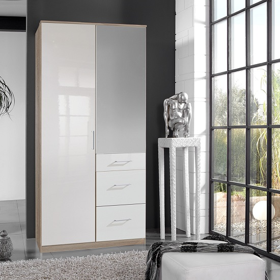 1 Door Wardrobe With Mirror: 4 Basic Types To Consider
