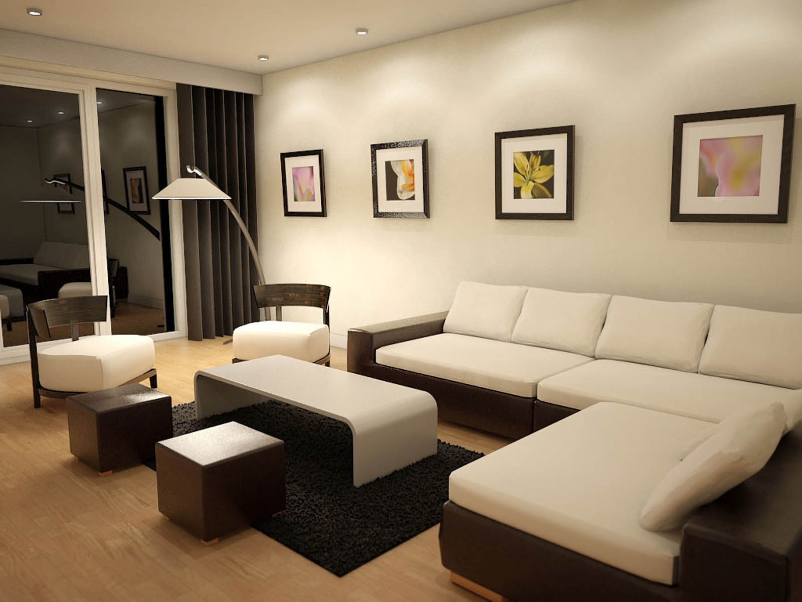 Where to Place A Lamp Relative To A Sofa