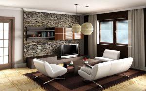 living room aquarium design 300x188 - Genuine Leather for Upholstery