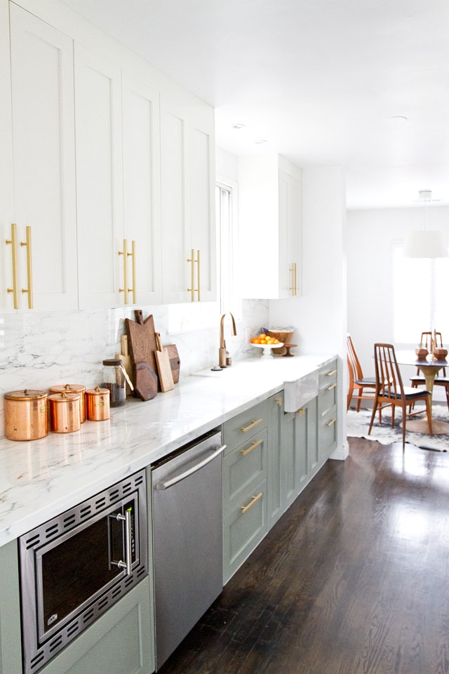 rustic modern kitchen  6 1 - Creating a fusion of classical and modern design styles in your kitchen and other rooms