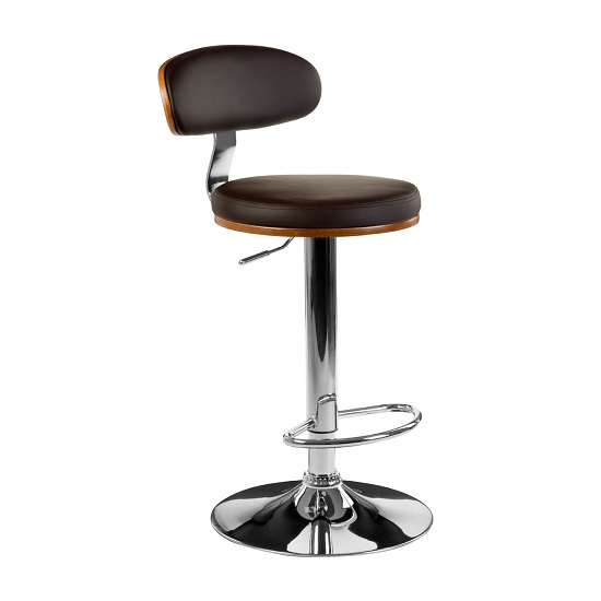 contempoaray gas lift bar stool