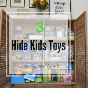 kids toys storage for sideboard