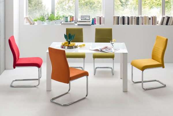 adding colour to dining room