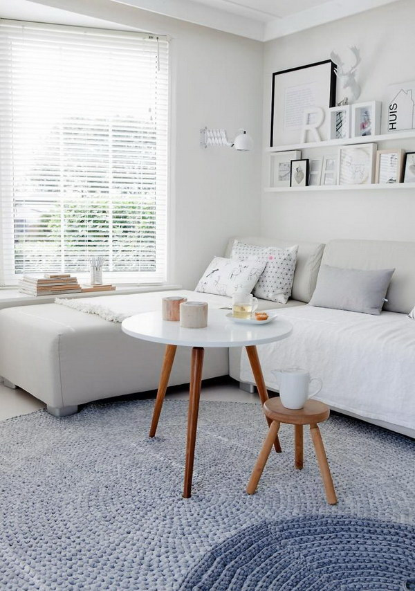 9 beautiful living rooms - 7 White Living Room Ideas For Your Home