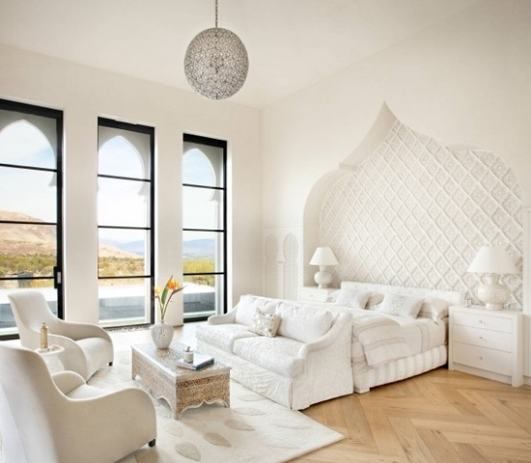 A few Simple White Bedroom Furniture Décor Ideas For Your Home