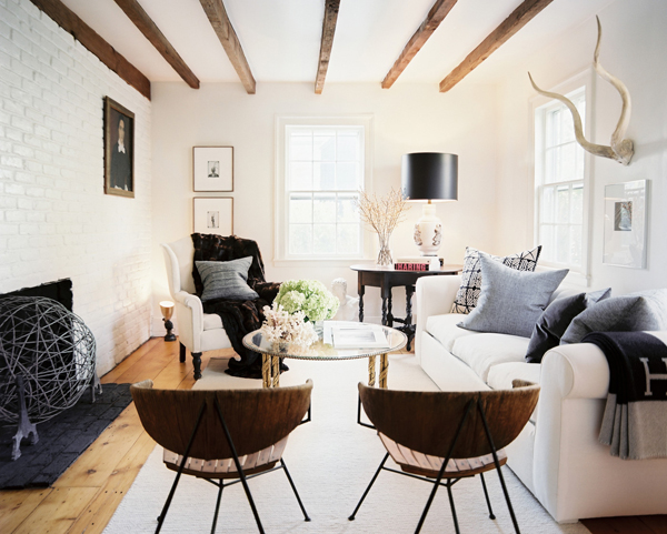 Lonny - 7 White Living Room Ideas For Your Home